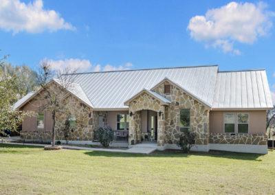 Front Elevation - La Vernia Custom Home Builder