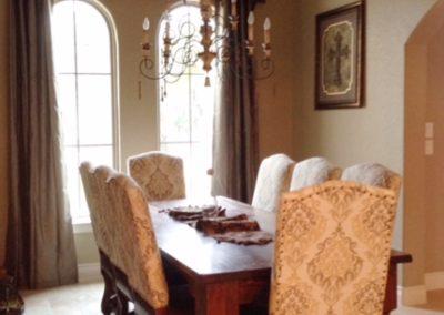 Custom Home Dining Room