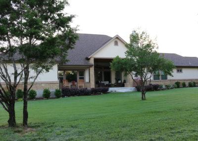 Custom Home Rear Exterior