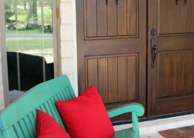 Custom Home Exterior Porch