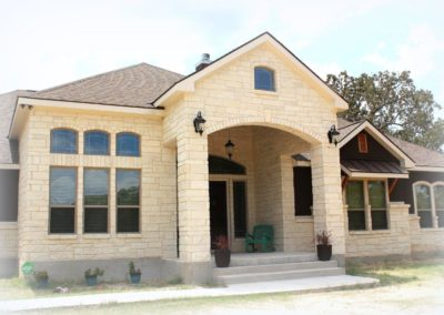 Custom Home Exterior Front Elevation